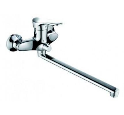 Смеситель для ванны  Rainsberg  с длинным изливом.(35) R0123С