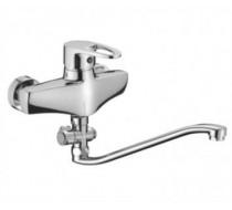 Смеситель для ванны OUTE с длинным S изливом.(35) T1623