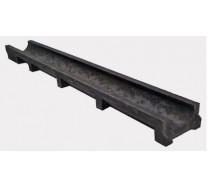 Лоток водоотводный полимерпесчаный мелкосидящий Standart 100/70 арт. 701