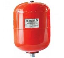 Бак для отопления   10л 3/4 красный  Джелекс 7810