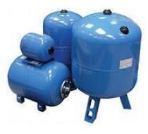 Бак для водоснабжения 50 л 3/4 синий верт. на ножках