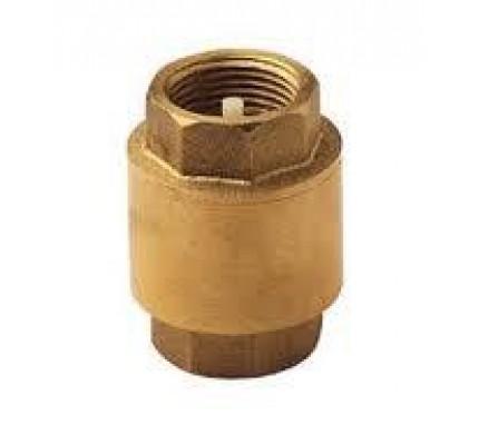 Обратный клапан с металическим седлом