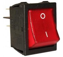 Выключатель клавишный 16А 16 А