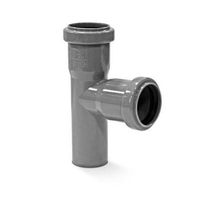 Тройник канализационный 87,5°