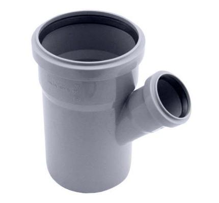 Тройник канализационный 45°